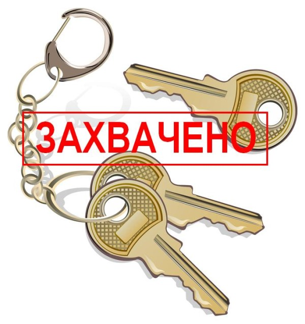 Bunch of keys about charm from apartment or machines on white background