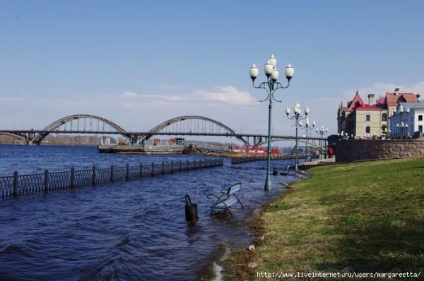 Затопление ГЭС